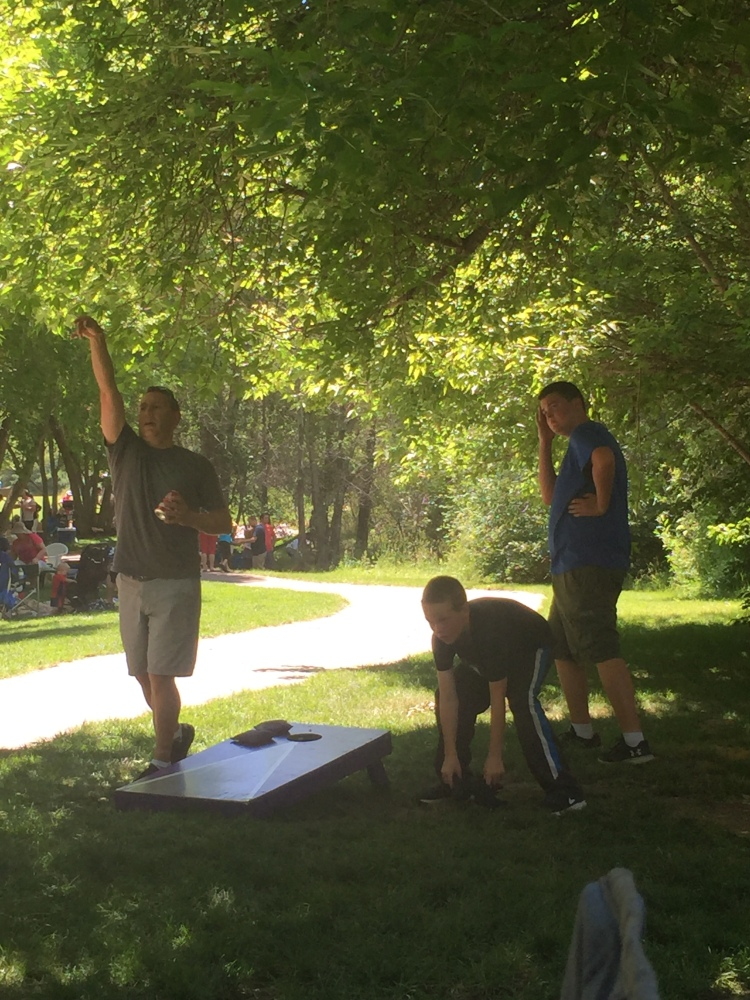 Corn Hole Games July