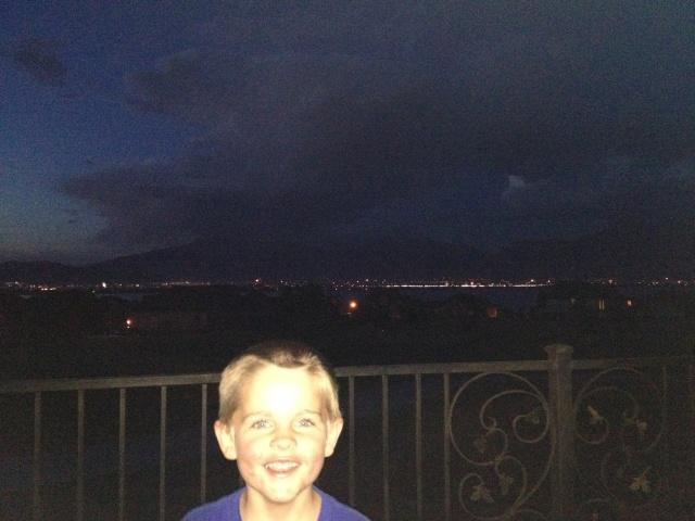 Fireworks in the Utah Valley