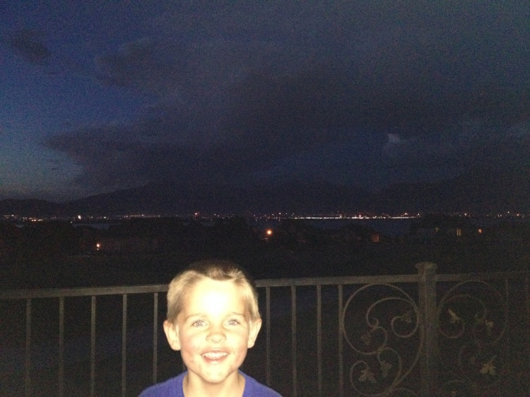 Fireworks in the Utah Valley