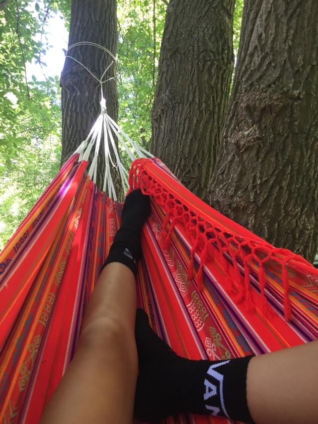 Nap Time in Hammocks
