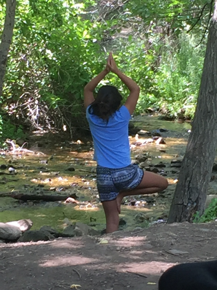 Yoga in the Canyon