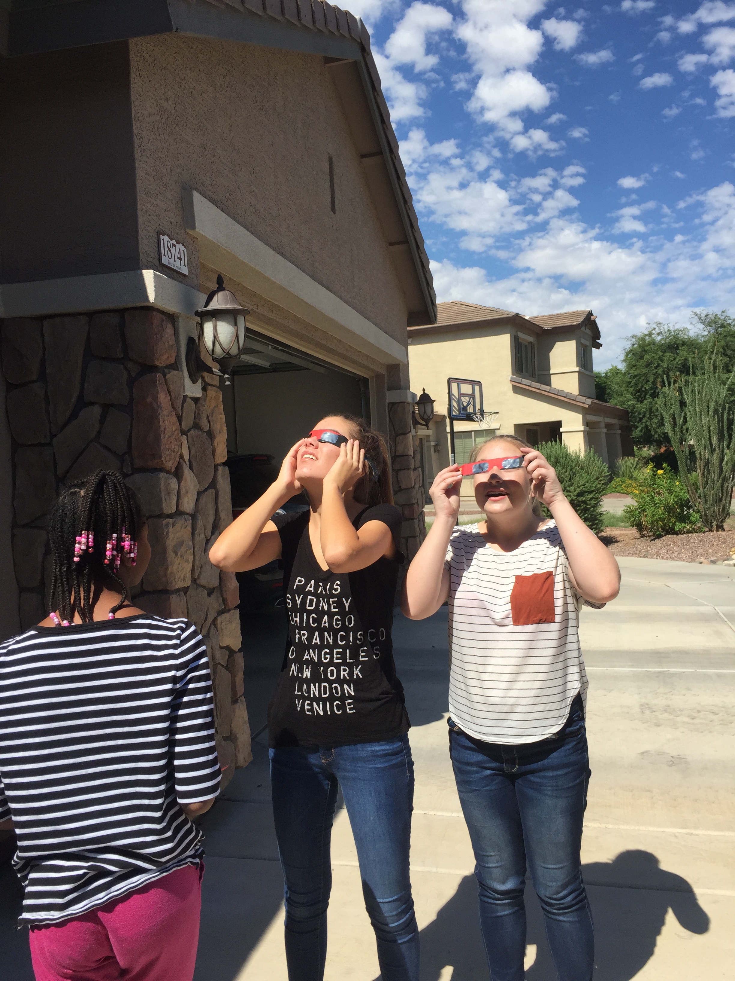 solar eclipse watching